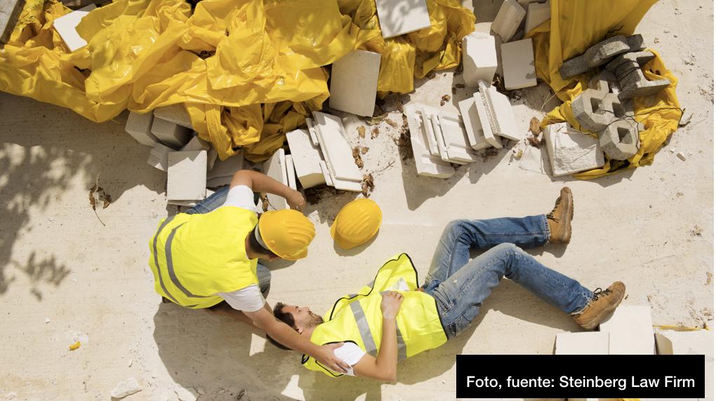 Abogados de la firma, Steinberg, explican sobre las lesiones laborales más comunes que suelen suceder en algunos accidentes de trabajo